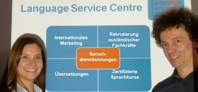 Zielgruppenspezifische Sprachdienstleistungen des Language Service Centre