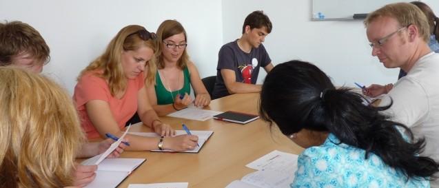 Foto aus einem Sprachkurs